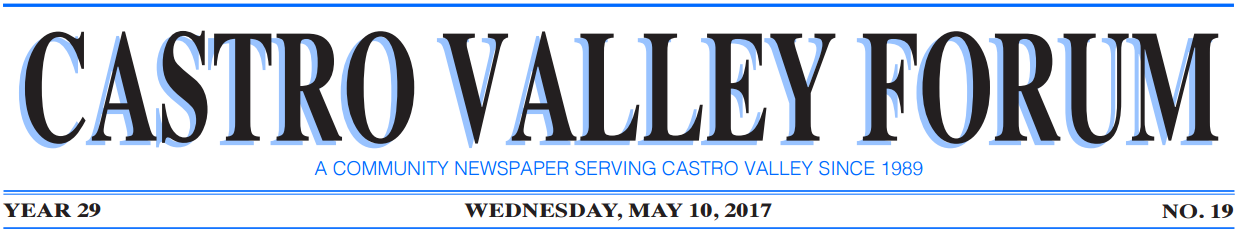 Castro Valley Forum Newspaper Header